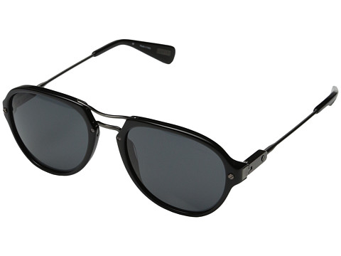 Lanvin - SLN585 (Gun/Black/Grey) Fashion Sunglasses