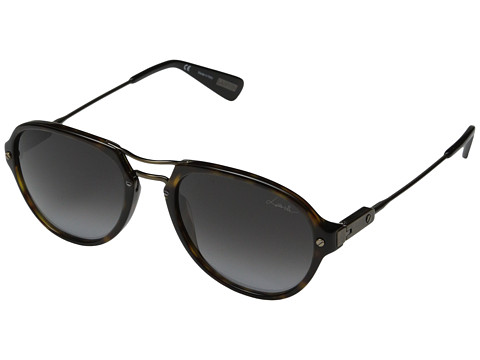 Lanvin - SLN585 (Brown/Tortoise/Gradient Grey) Fashion Sunglasses