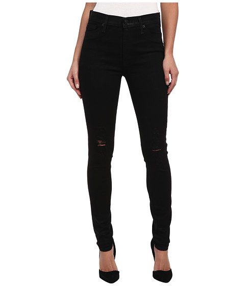 Hudson - Barbara High Rise Super Skinny in Waxed Skylark (Waxed Skylark) Women's Jeans