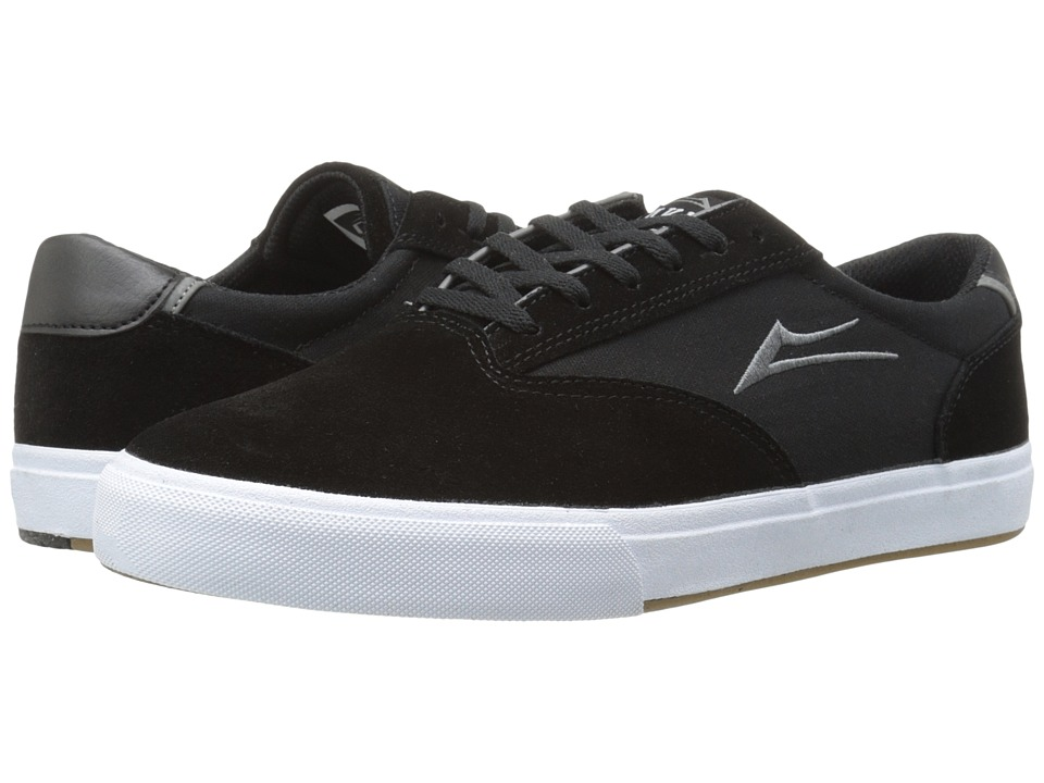 Lakai - GuyMar (Black/White Suede) Men