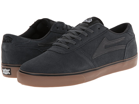 Lakai - Manchester Select (Dark Grey/Gum Suede) Men
