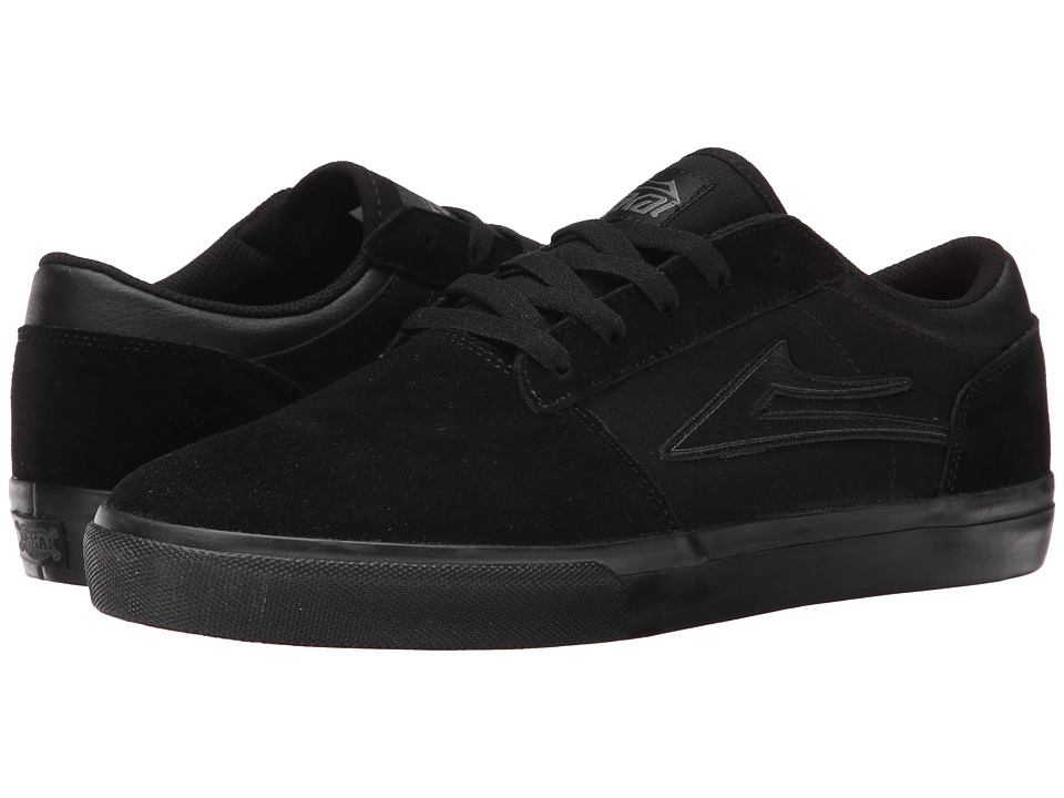Lakai - Brea (Black/Black Suede) Men