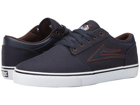 Lakai - Brea (Navy Canvas) Men's Skate Shoes