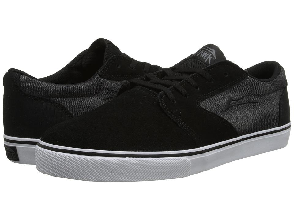 Lakai - Fura (Black Suede/Riley Hawk) Men's Skate Shoes