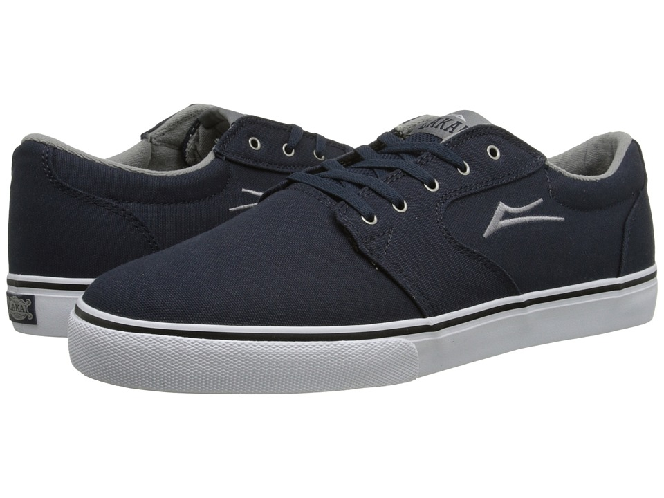 Lakai - Fura (Navy Canvas) Men's Skate Shoes