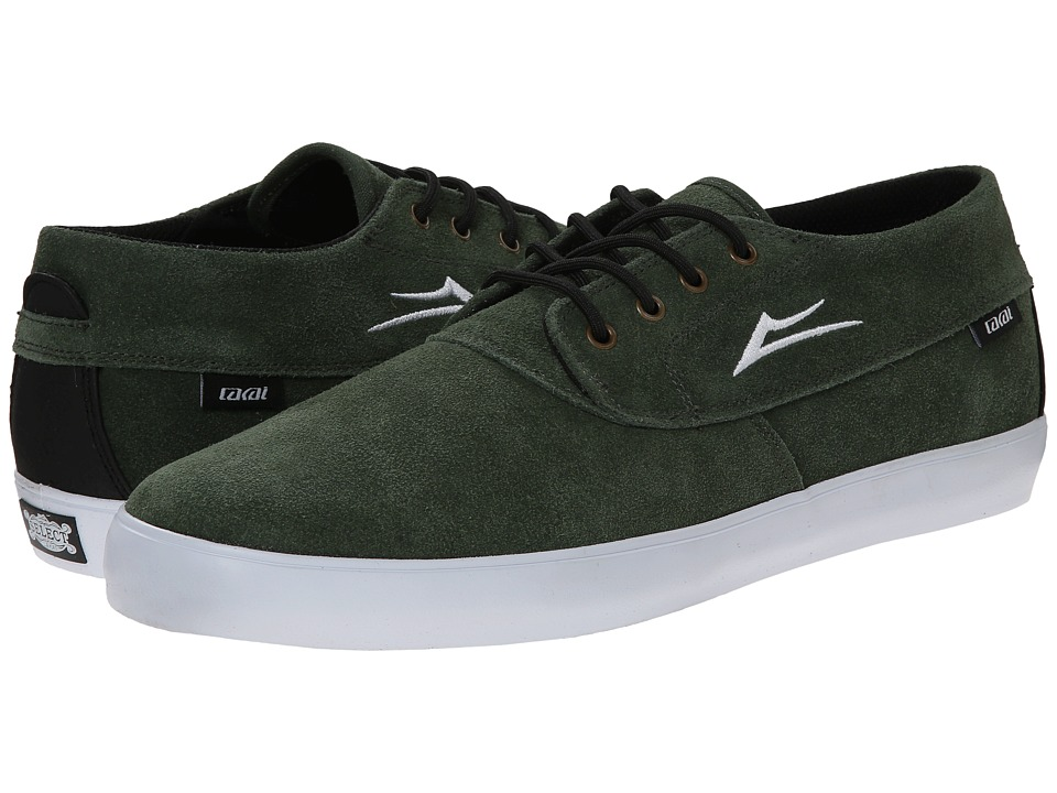 Lakai - Camby Mid (Military Suede) Men's Skate Shoes