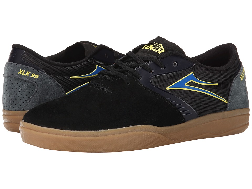 Lakai - Pacer (Black/Gum Suede) Men