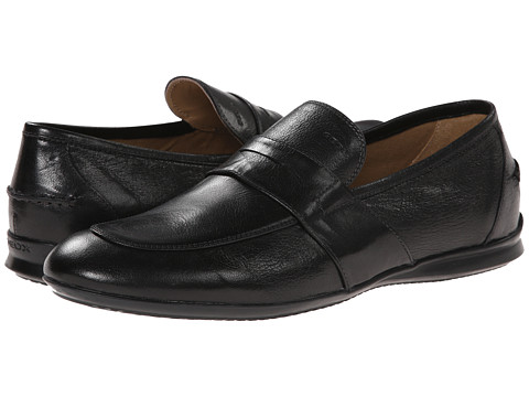 Geox - U Gilles 5 (Black) Men's Slip on Shoes