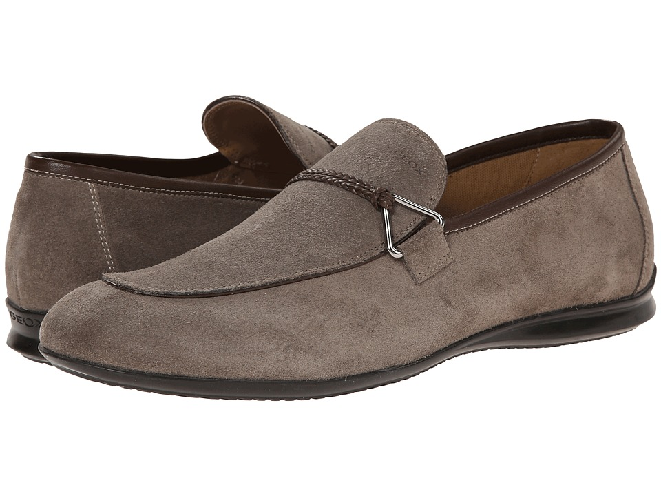 Geox - U Gilles 6 (Dove Grey) Men's Slip on Shoes