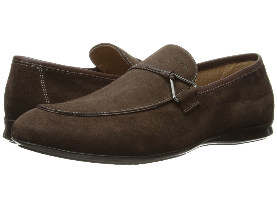 Geox - U Gilles 6 (Chestnut) Men's Slip on Shoes