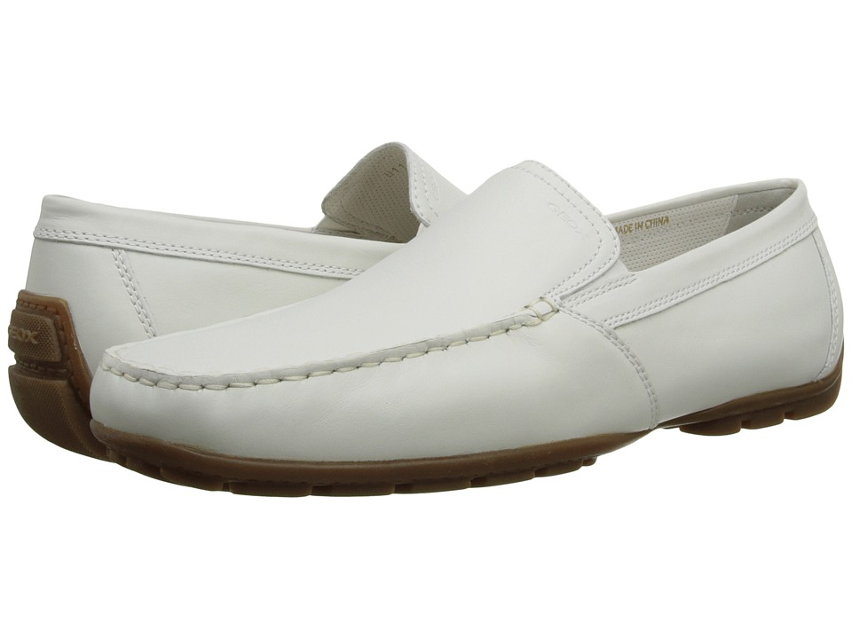 Geox - U Monet 18 (White) Men's Slip on Shoes