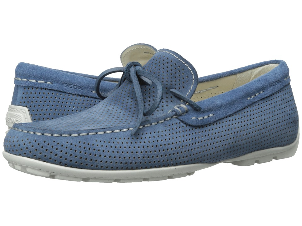 Geox - U Monet 28 (Avio) Men's Slip on Shoes