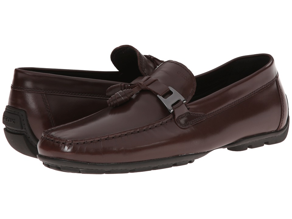 Geox - U Monet 29 (Dark Brown) Men