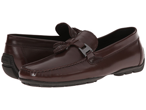 Geox - U Monet 29 (Dark Brown) Men's Slip on Shoes
