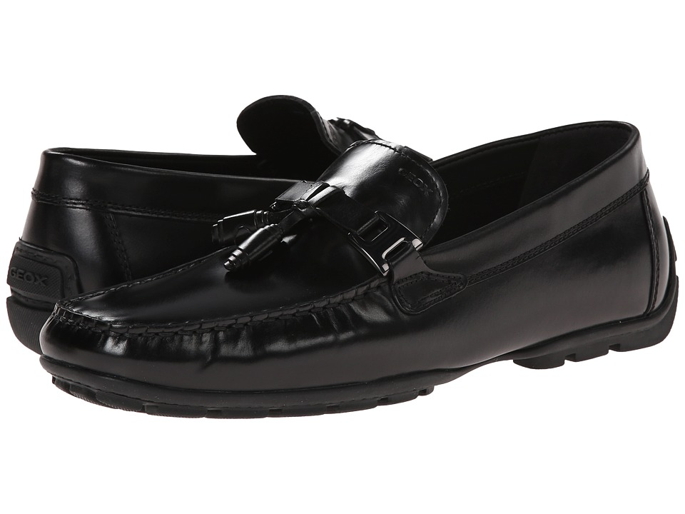 Geox - U Monet 29 (Black) Men's Slip on Shoes