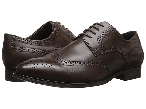 Geox - U Albert 2Fit 3 (Light Brown) Men's Lace Up Wing Tip Shoes