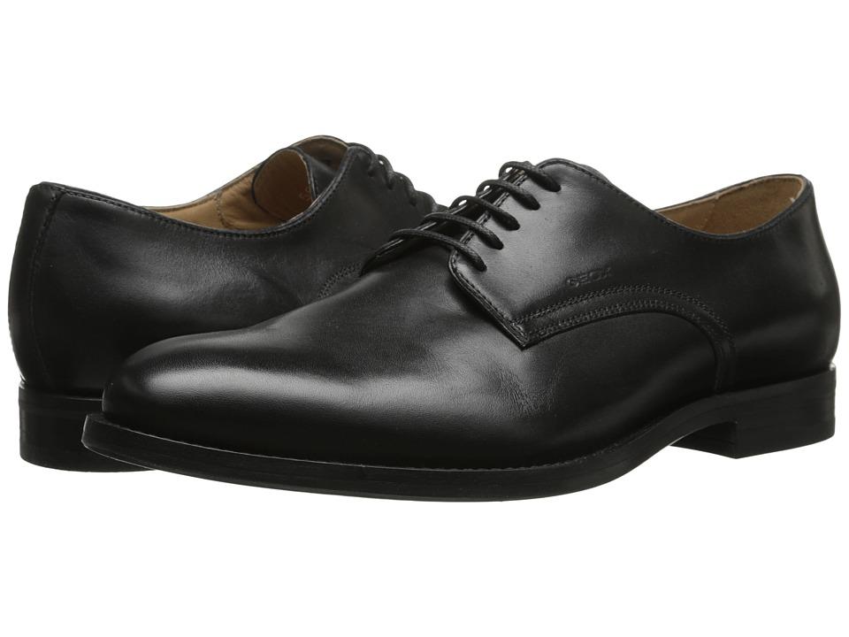 Geox - U Hampstead 1 (Black) Men's Lace up casual Shoes