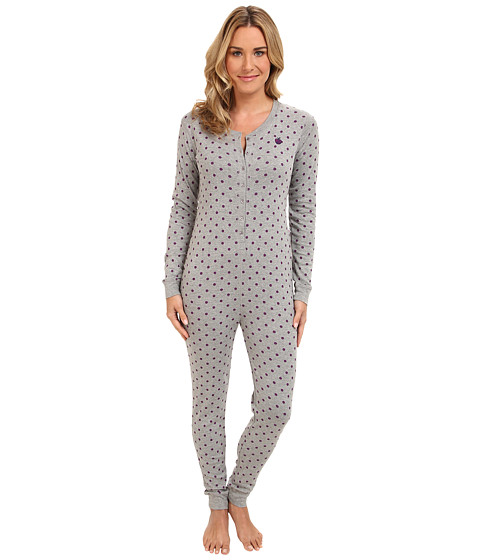 Jane & Bleecker - Rib Jumper 358650 (Ditsy Dot) Women's Jumpsuit & Rompers One Piece
