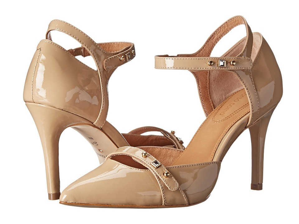 Corso Como Park Slope (Beige Patent) High Heels