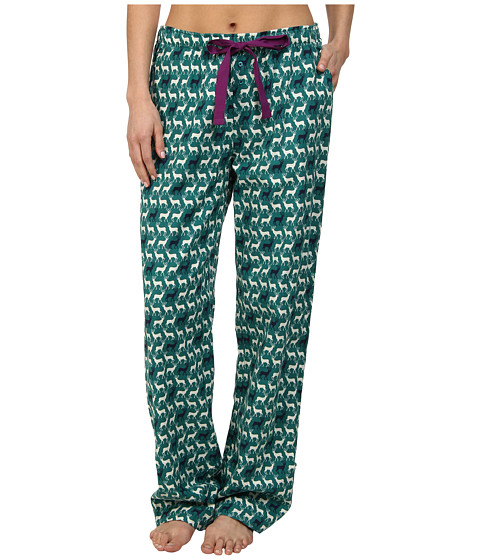 Jane & Bleecker - Flannel Pant 359850 (Dasher and Prancer) Women's Pajama