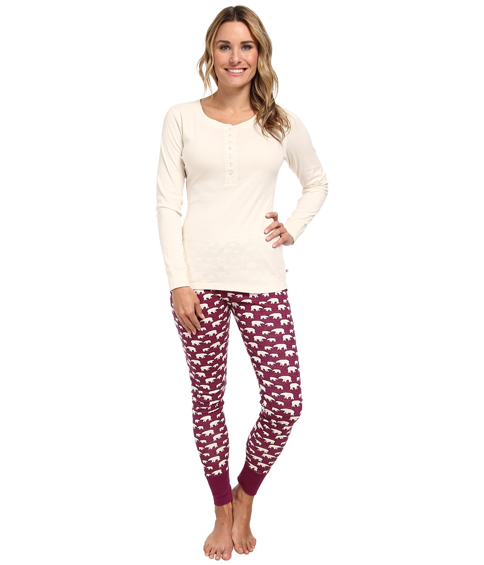 Jane & Bleecker - Legging Pajama Set 350860 (Mama Bears) Women's Pajama Sets