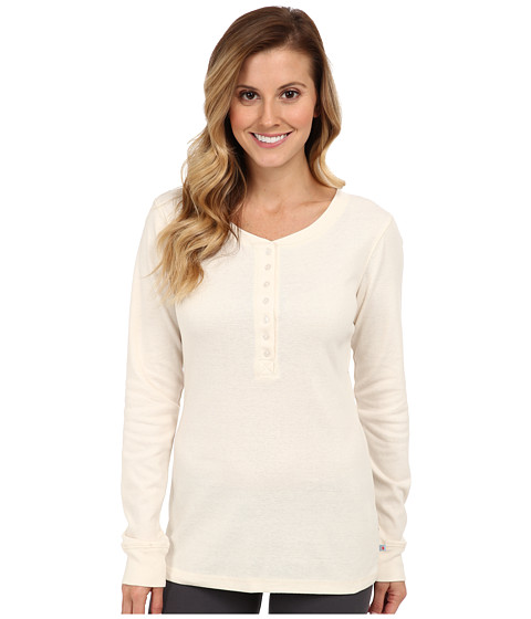 Jane & Bleecker - Rib Henley 351860 (Sand) Women