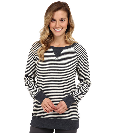 Jane & Bleecker - Double Knit Pullover 353840 (Calming Stripe) Women