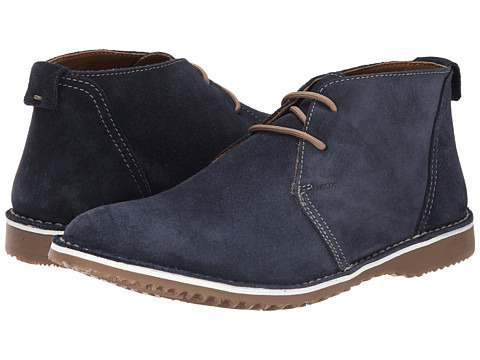 Geox - U Zal 1 (Navy) Men's Lace-up Boots