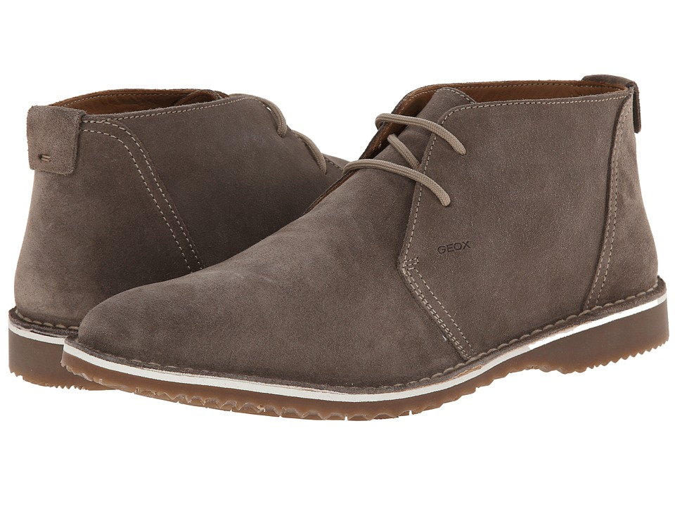 Geox - U Zal 1 (Dove Grey) Men's Lace-up Boots