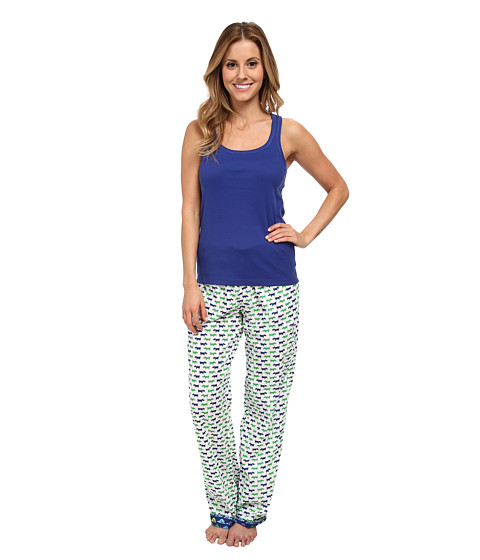 Jane & Bleecker - Tank with Batiste Pant Set 359855 (Scotties To Sleep) Women's Pajama Sets