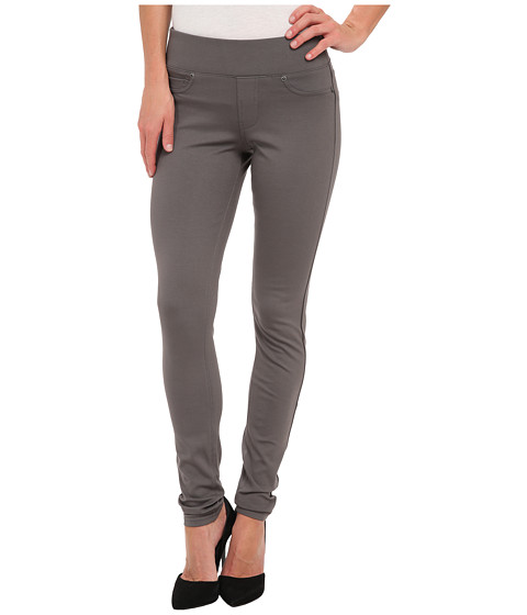 Liverpool - Sienna Pull-On Ponte Legging (Eiffel Tower Gray) Women's Clothing