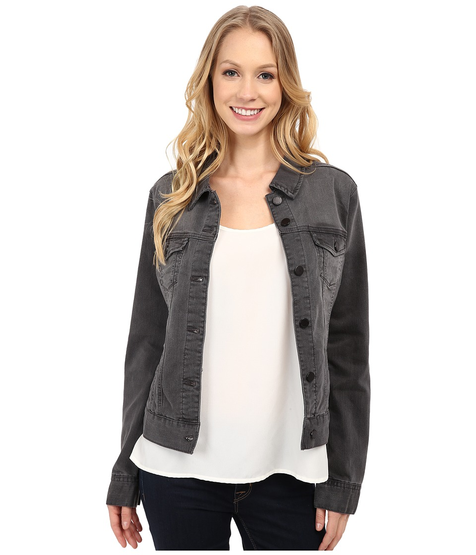 Liverpool - Denim Jacket (Shy Gray Wash) Women's Coat