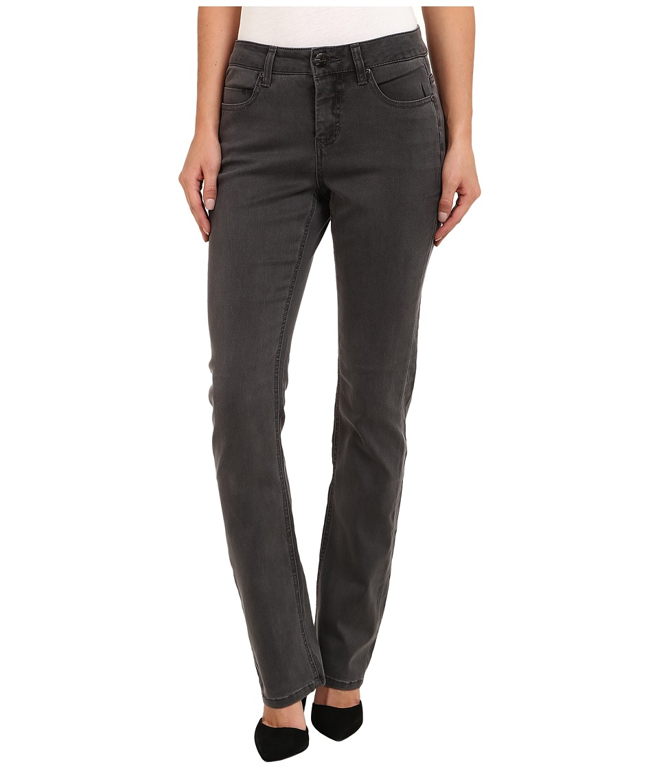 Liverpool - Sadie Straight Jean (Smokey Gray Wash) Women's Jeans