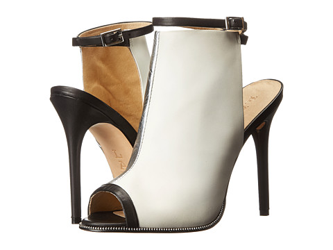 L.A.M.B. - Ward (White/Black) High Heels