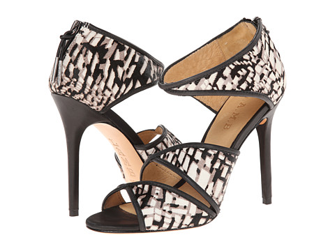 L.A.M.B. - Waren (Black/White) High Heels