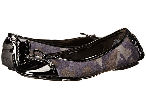 Anne Klein - Buttons (Navy Multi Black) Women's Flat Shoes