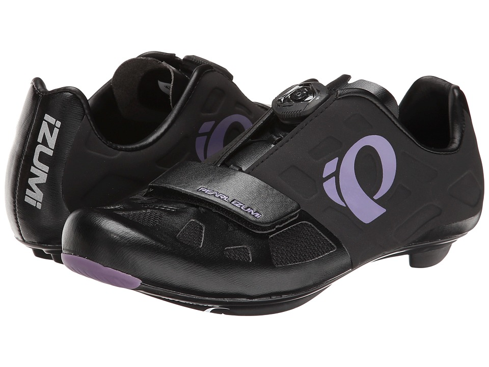 Pearl Izumi - Elite Rd IV (Black/Purple Haze) Women's Cycling Shoes