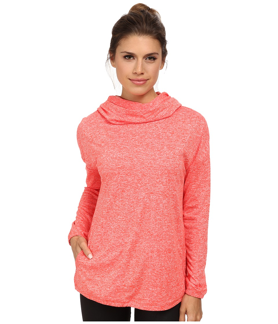Merrell - Helio Pullover (Nectarine Heather) Women's Long Sleeve Pullover