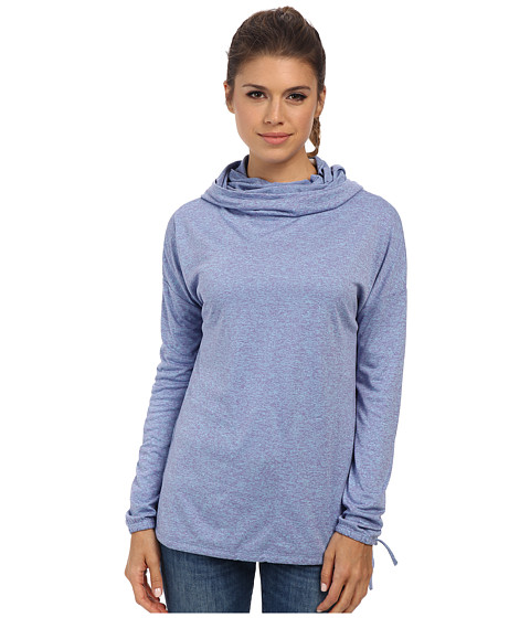 Merrell - Helio Pullover (Iris Heather) Women's Long Sleeve Pullover