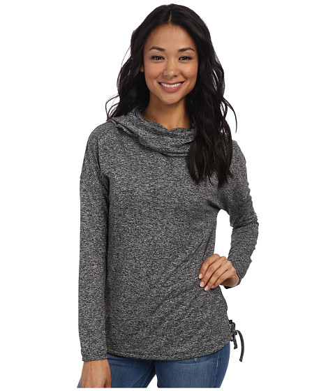 Merrell - Helio Pullover (Black Heather) Women's Long Sleeve Pullover
