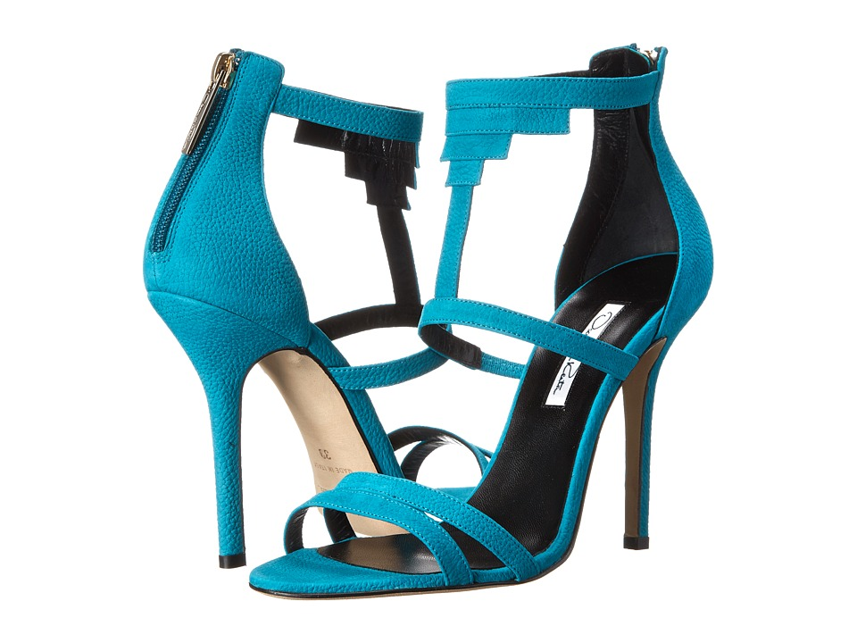 Oscar de la Renta - Simona (Aqua Nubuck) High Heels