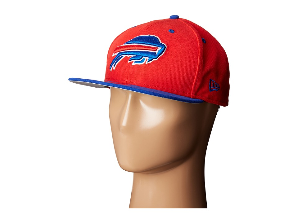New Era - NFL Two-Tone Team Buffalo Bills (Red) Baseball Caps