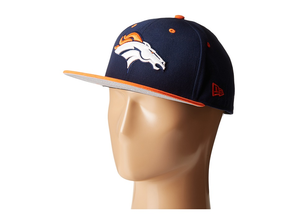 New Era - NFL Two-Tone Team Denver Broncos (Navy) Baseball Caps