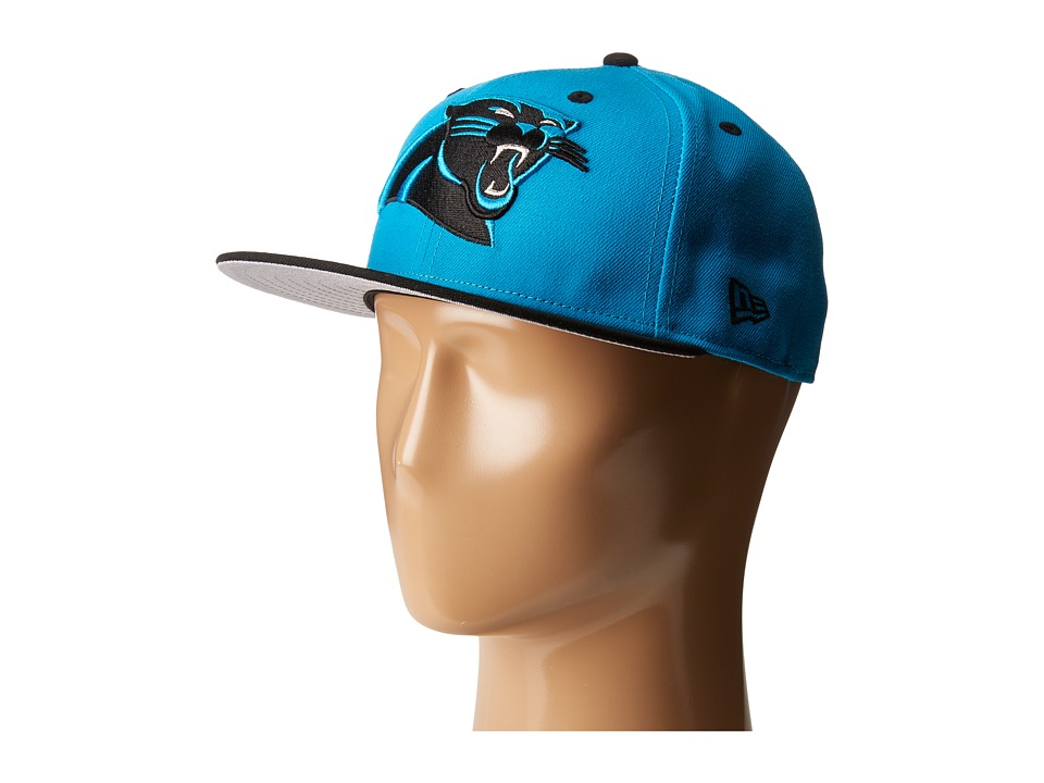 New Era - NFL Two-Tone Team Carolina Panthers (Bright Blue) Baseball Caps