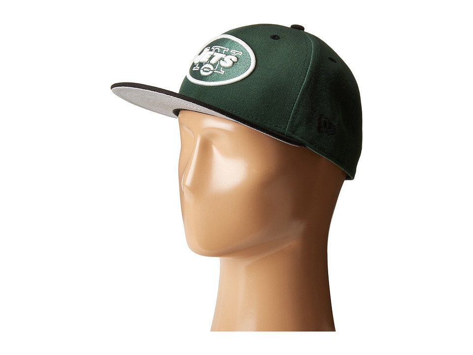 New Era - NFL Two-Tone Team New York Jets (Dark Green) Baseball Caps