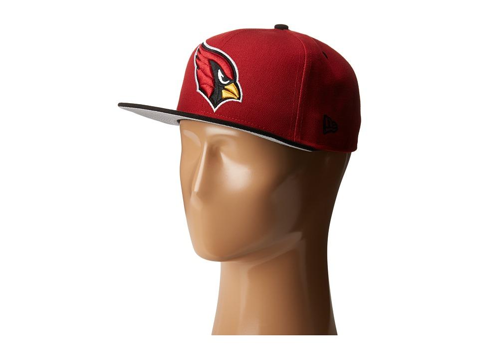 New Era - NFL Two-Tone Team Arizona Cardinals (Dark Red) Baseball Caps