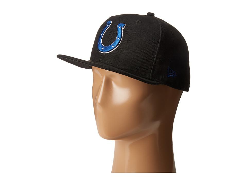 New Era - NFL Indianapolis Colts (Black) Baseball Caps
