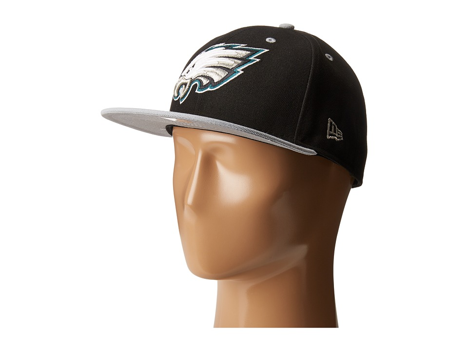 New Era - NFL Two-Tone Team Philadelphia Eagles (Black) Baseball Caps