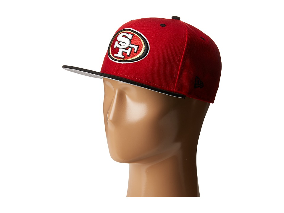 New Era - NFL Two-Tone Team San Francisco 49ers (Red) Baseball Caps