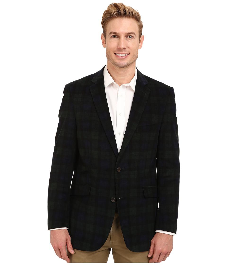 U.S. POLO ASSN. - 16 Wale Corduroy Sport Coat (Blackwatch) Men's Jacket